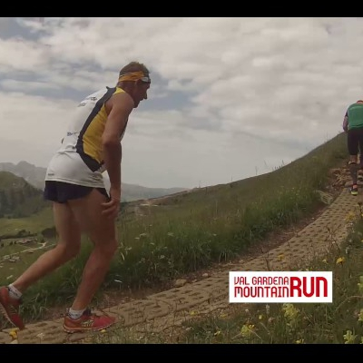 Saslong Run Video Mountain Run