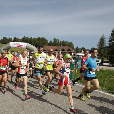 Saslong Run Images from the race Partenza