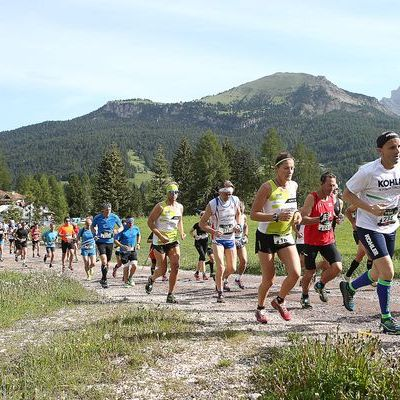 Saslong Run Images from the race Gruppo13