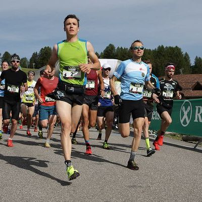 Saslong Run Images from the race Partenza02