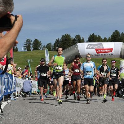 Saslong Run Images from the race Partenza03