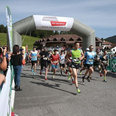 Saslong Run Images from the race Partenza04