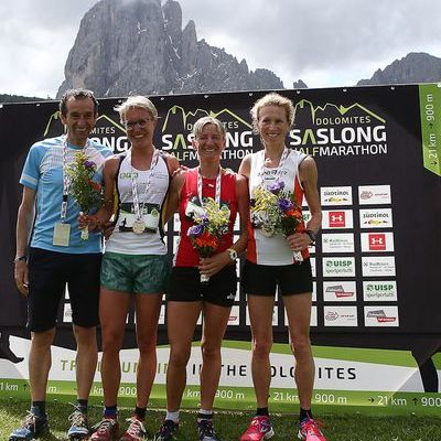 Saslong Run Images from the race PodioFem02